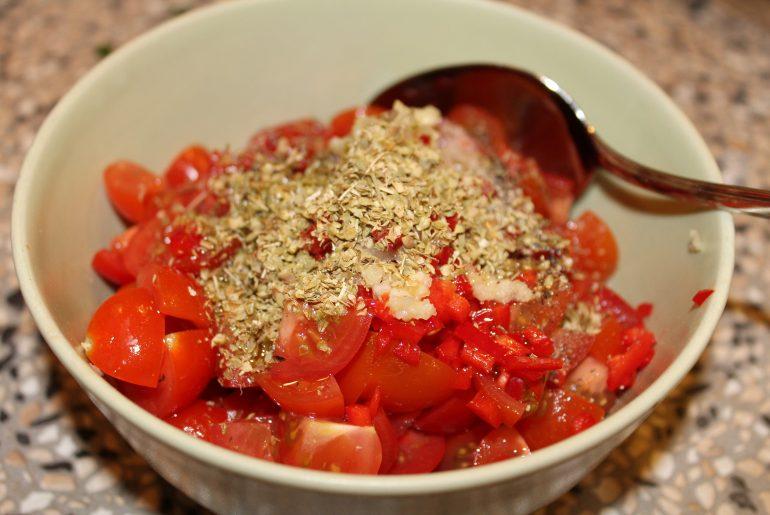 Tomat-chilisalsa