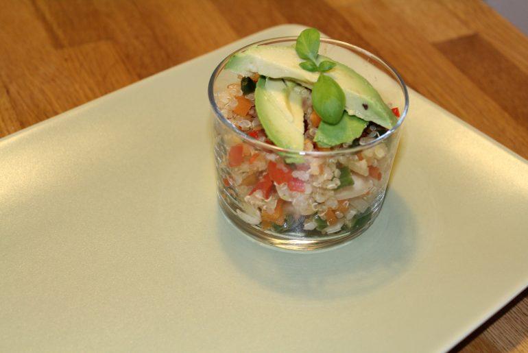 Quinoa-pilaf som tapas