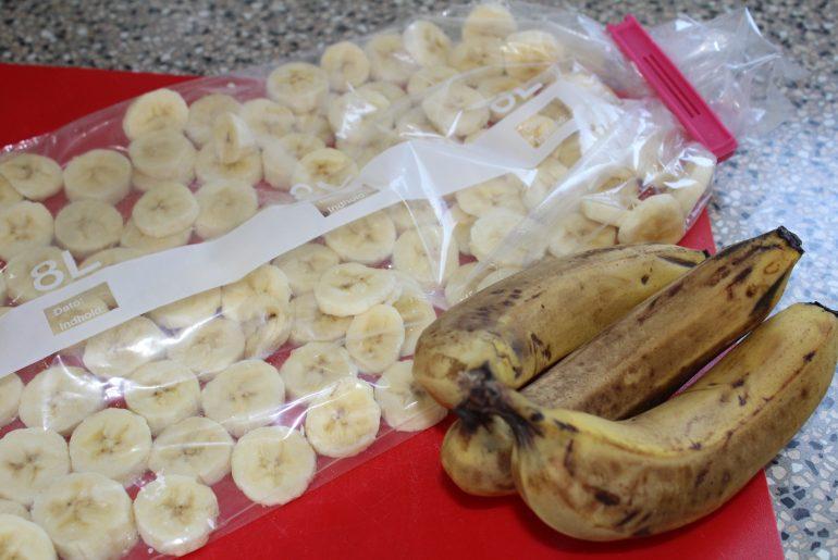 Bananer til at fryse