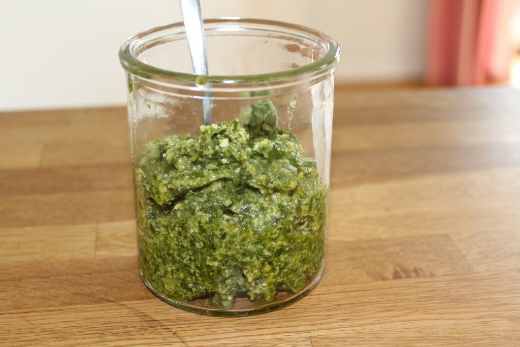 Grønkålspesto
