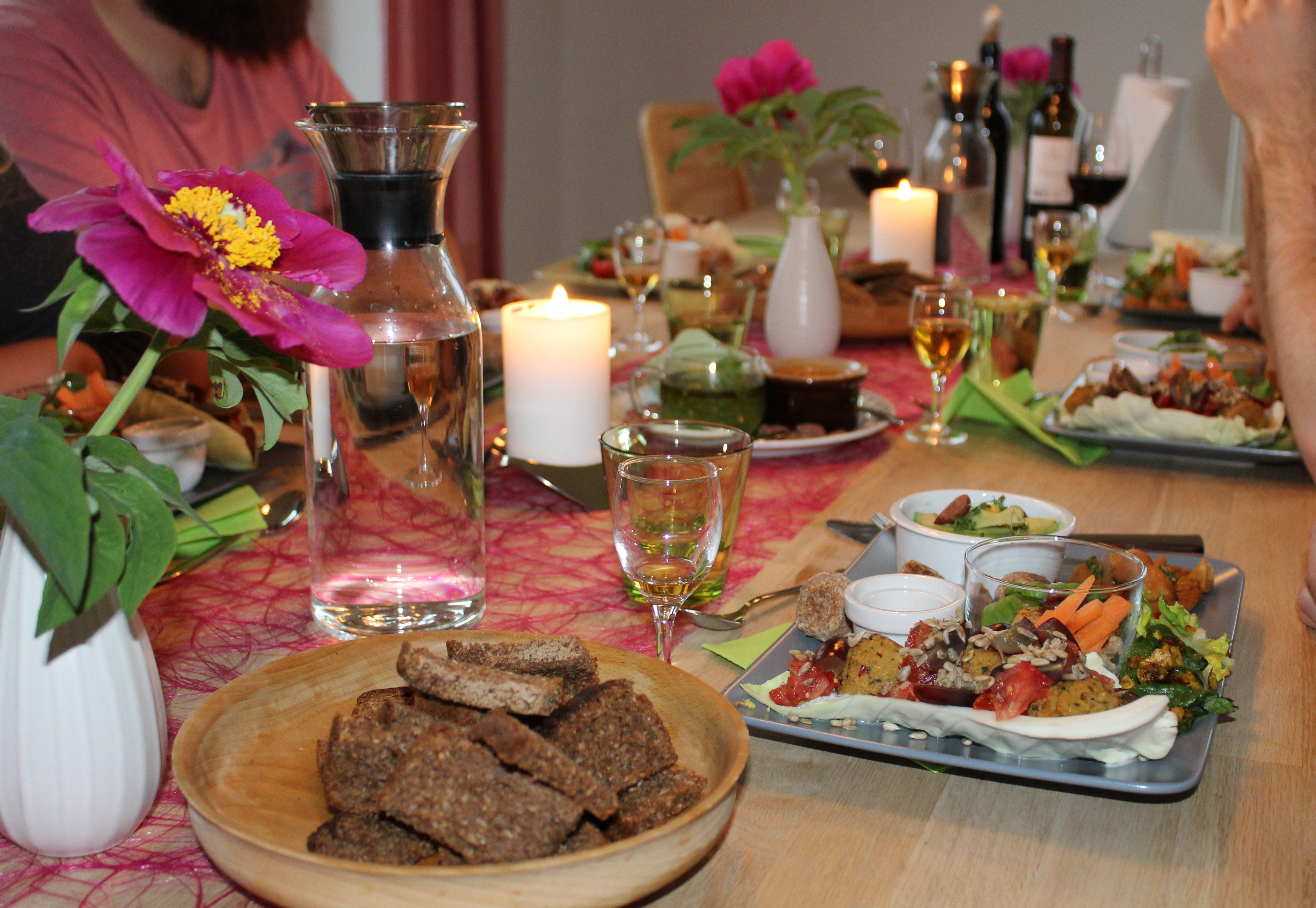"""Vegansk restemad med vores """"børn"""""""