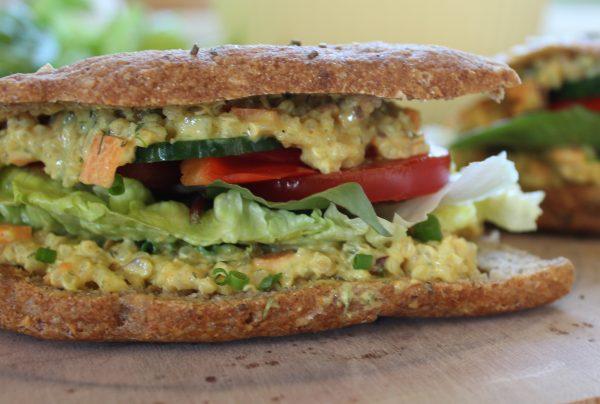 Vegansk sandwich