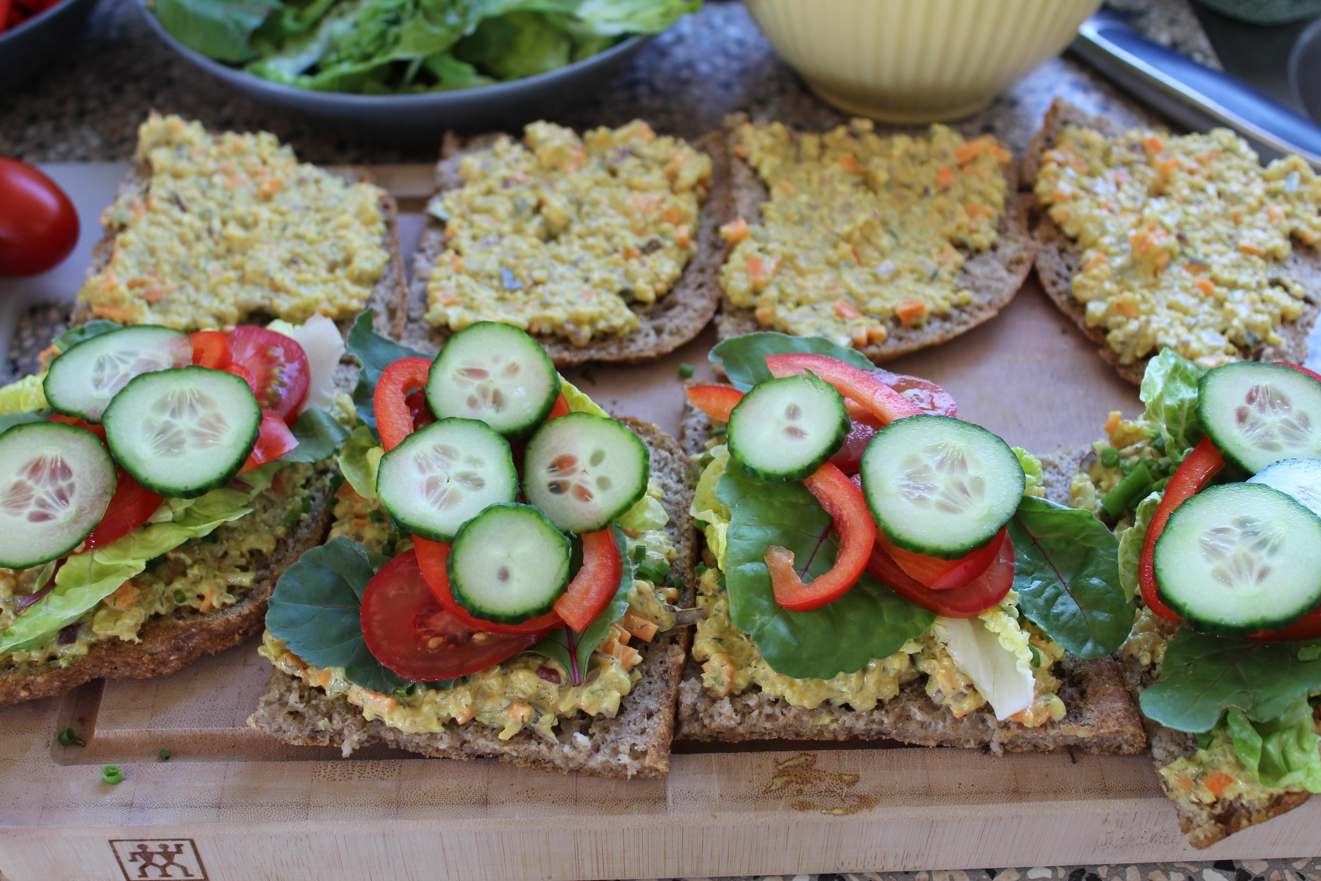 Quinoa-salat-sandwich