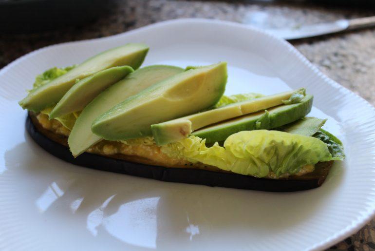 Salat og avocado