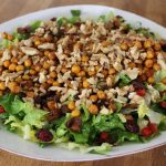 Vegansk kikærtesalat - en hverdagssalat