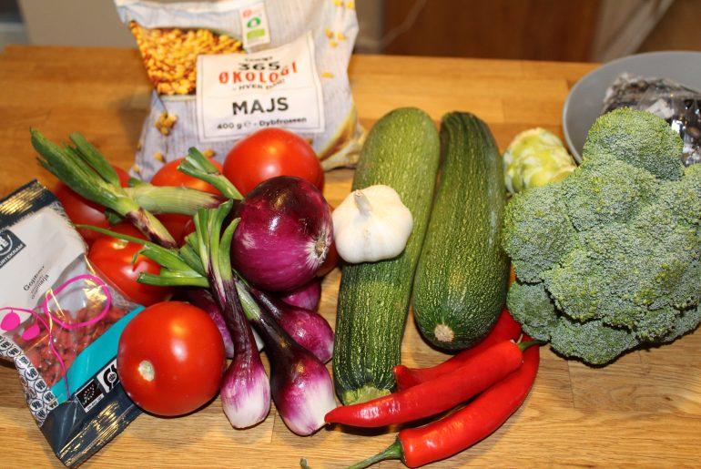 Ingredienser til chili goji grydeIMG