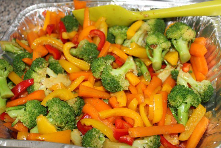 Grøntsager i orientalsk marinade