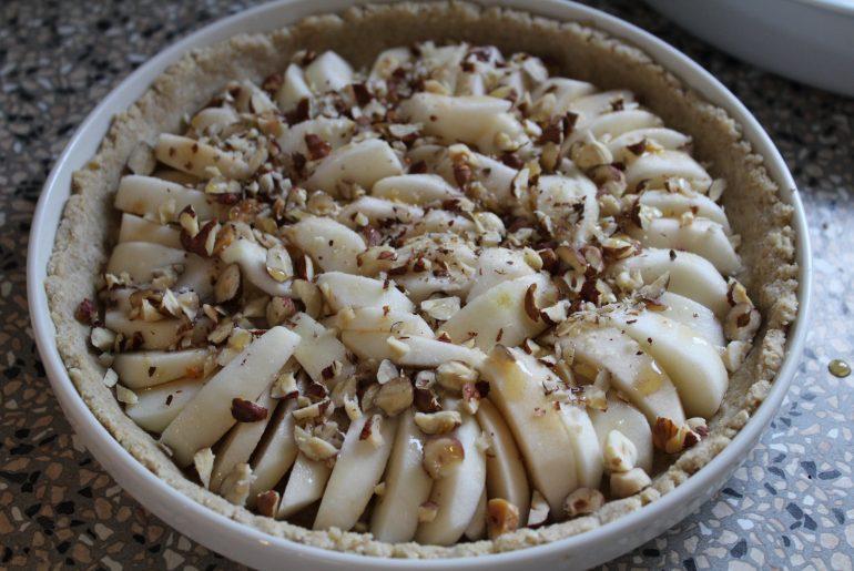 Æbletærte klar til bagning