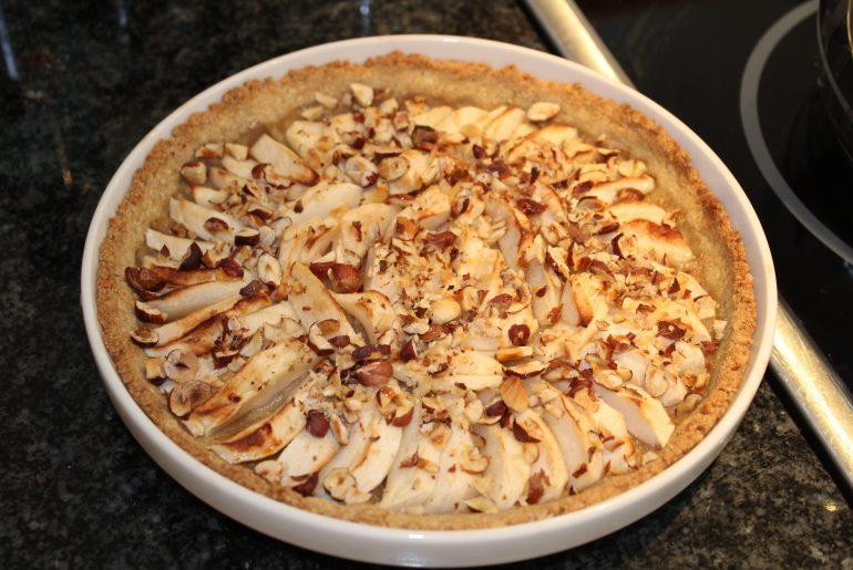 Fransk æbletærte i vegansk version