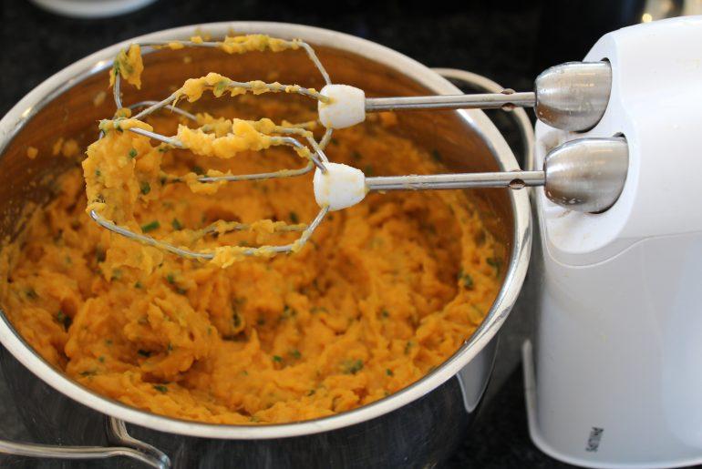 Mos af søde kartofler