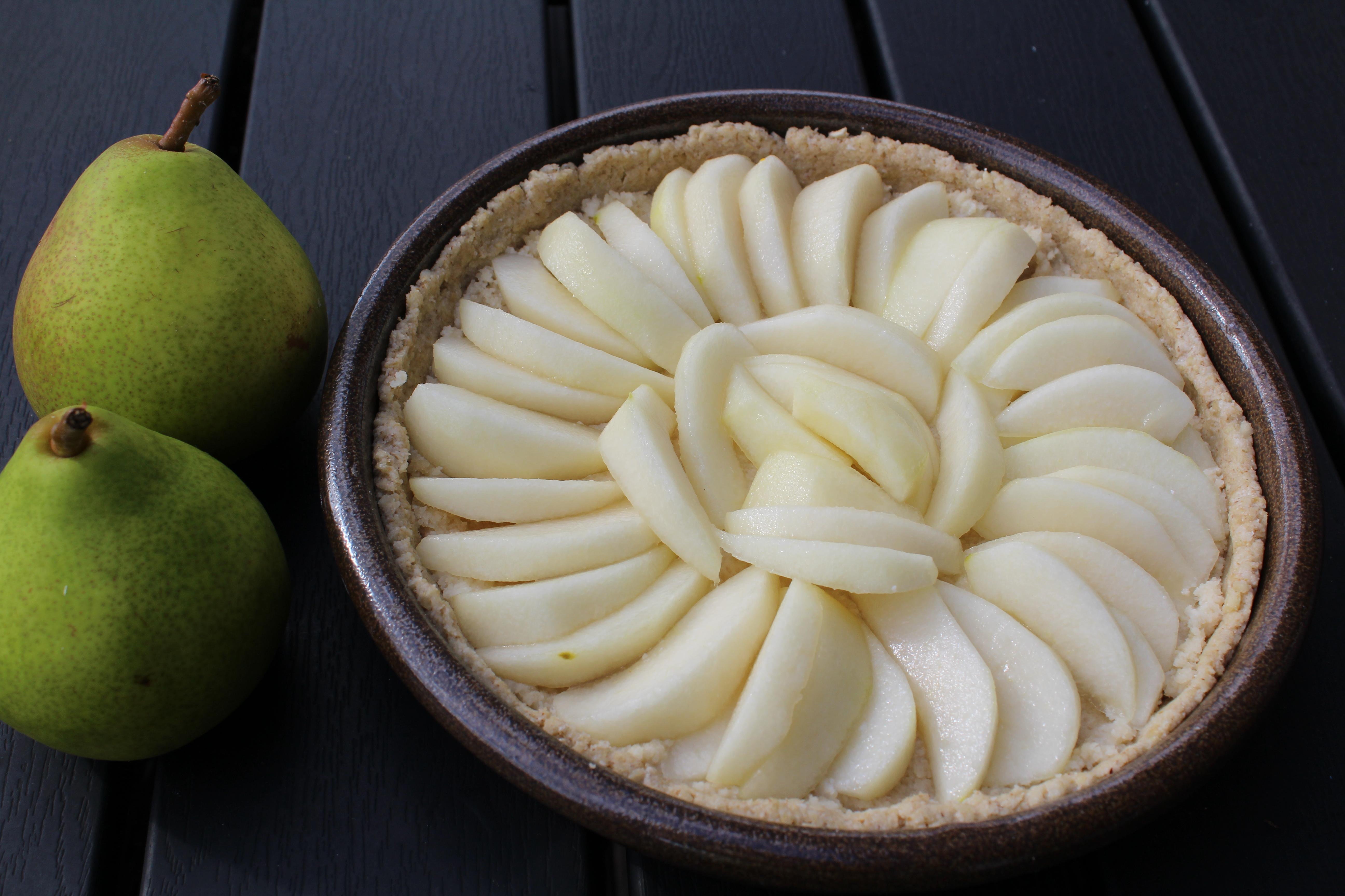 Pæretærte- pærer uden skræl