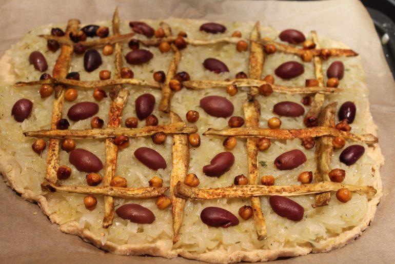 Vegansk pizzaladière