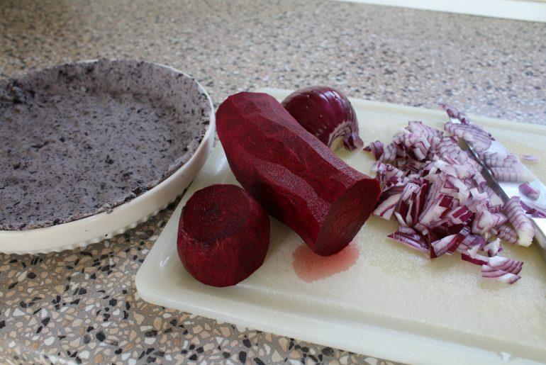 Fyld til rødbedetærte