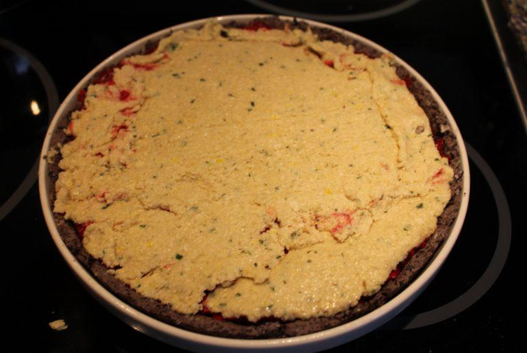 Rødbedetærte