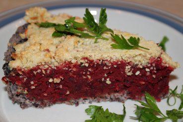 Vegansk rødbedetærte