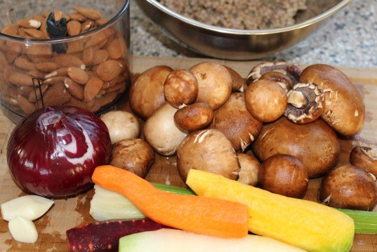 Ingredienser til mandelsteg