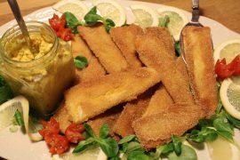 Veganske fiskefiletter