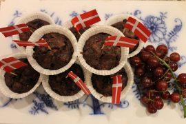 Veganske blåbærmuffins