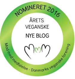 Nomineret som årets veganske nye blog
