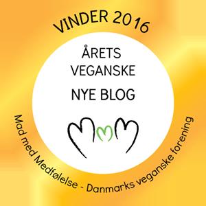 Mad Med Medfølelses pris for årets nye veganske blog 2016