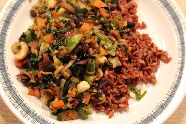 Vegansk wok