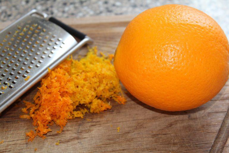 Mandel-appelsintærte