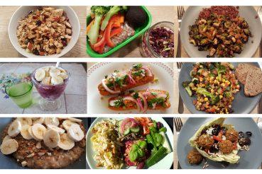 Vegansk mad til en uge