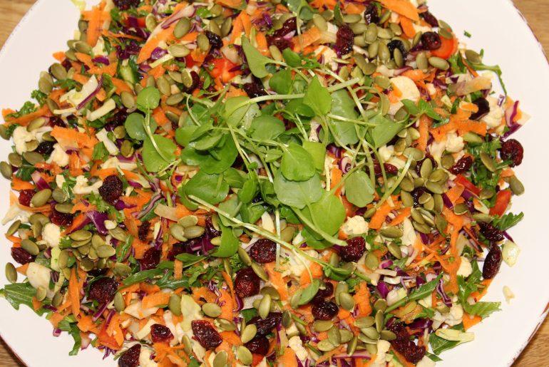 Årstidens salat