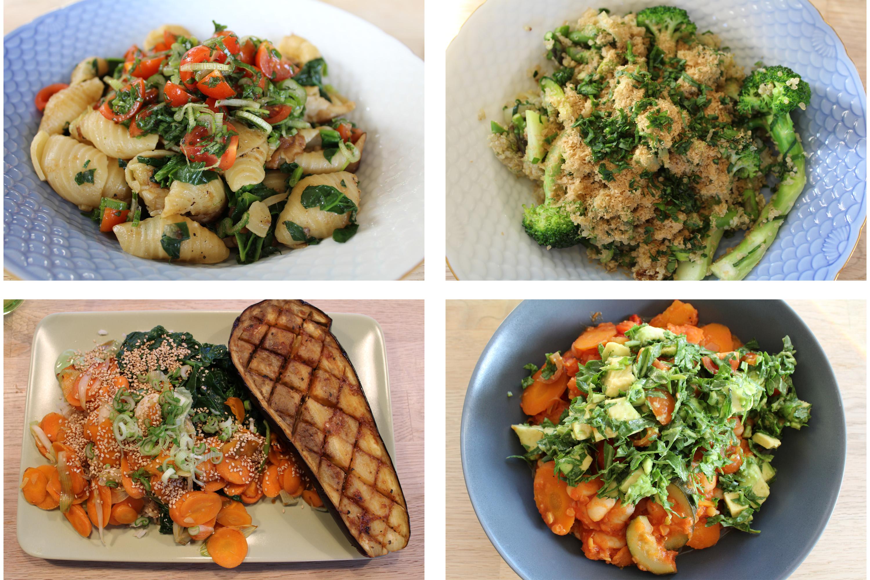 Første veganske måltidskasse