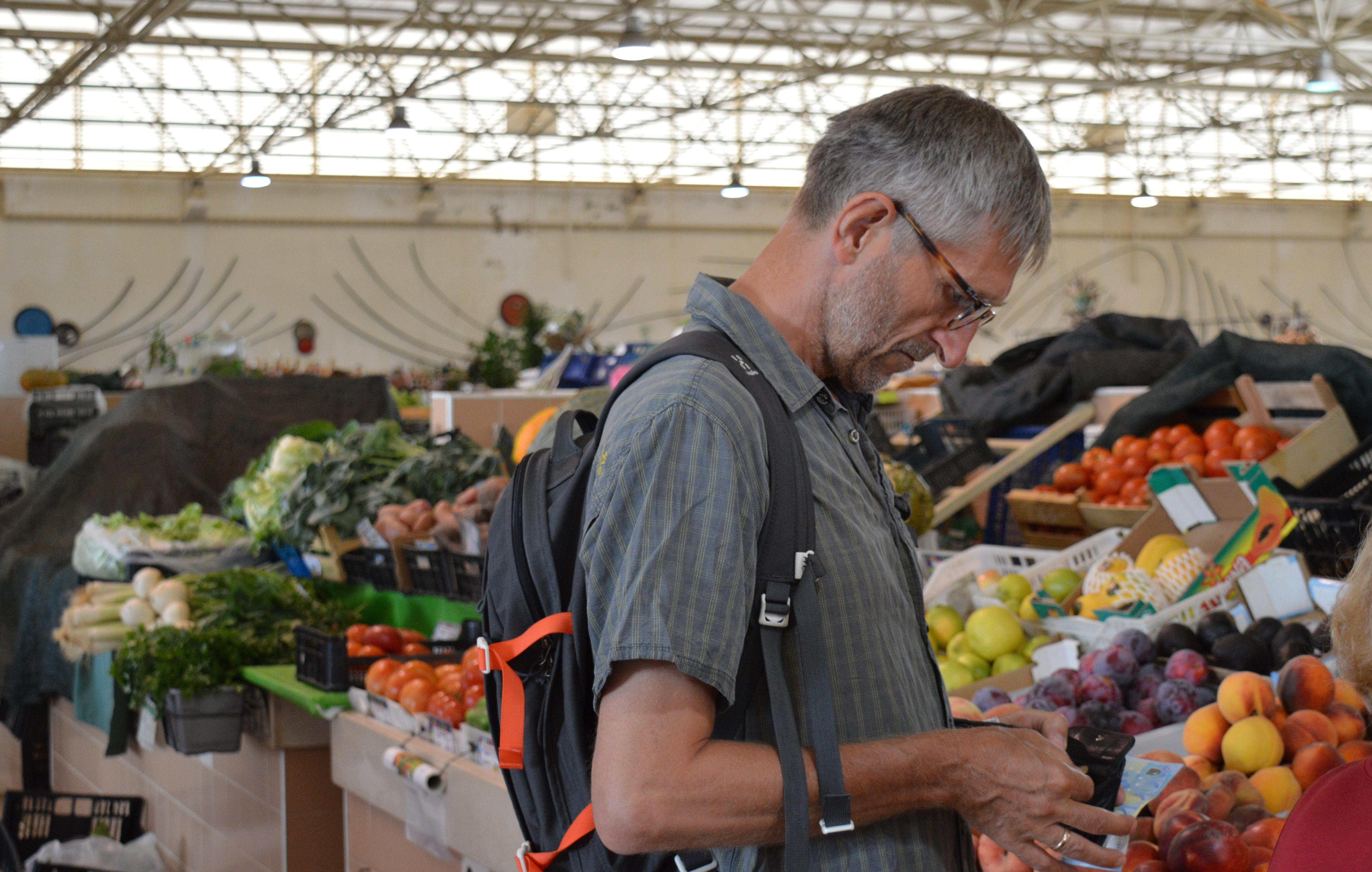 Taviras grøntsagsmarkede