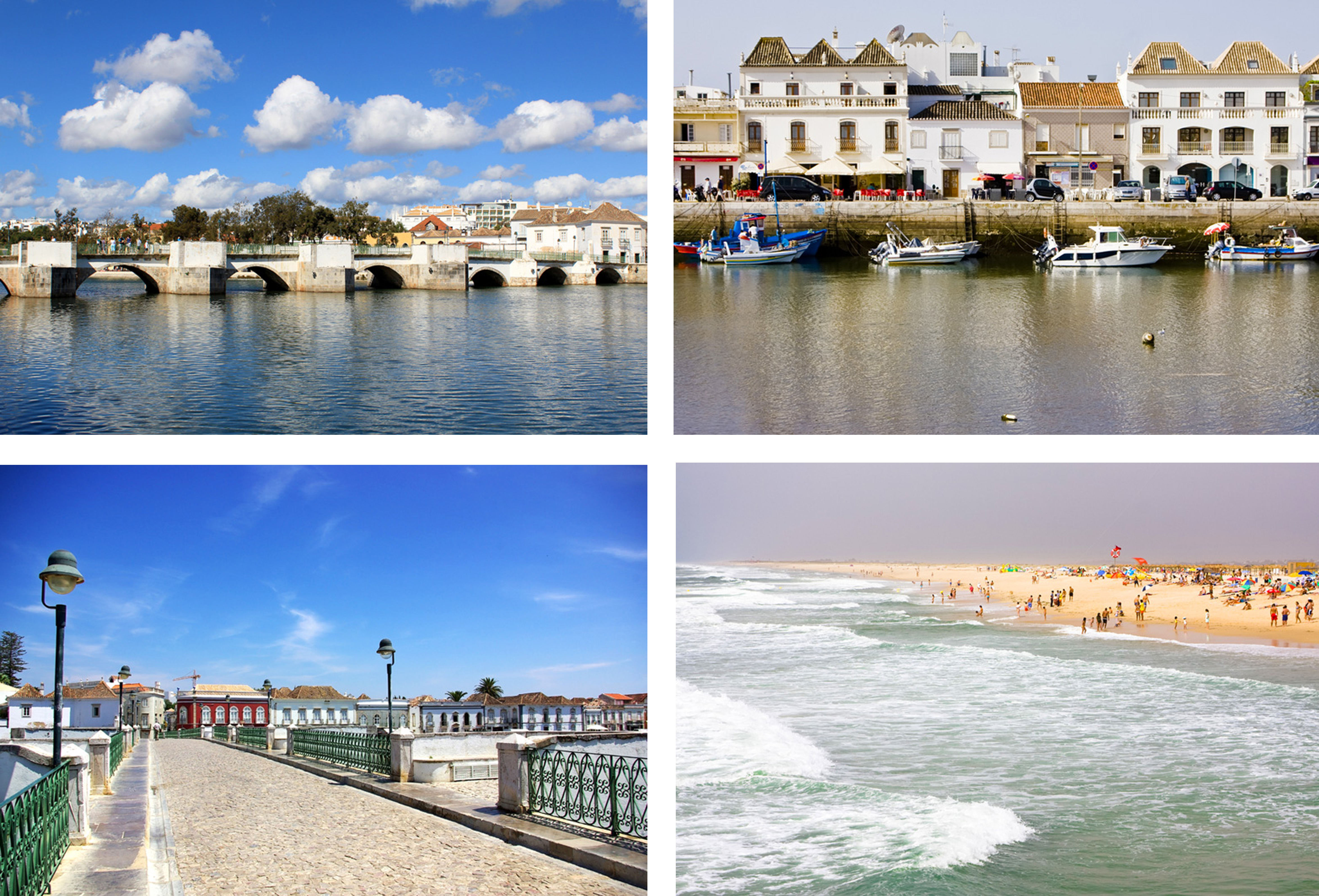 Tavira by og strand