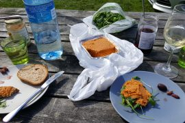 Vegansk campingfrokost