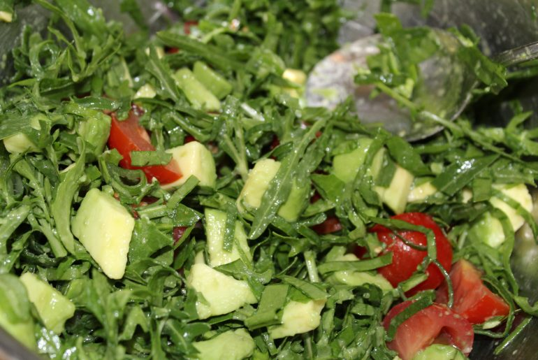 Rucola-topping