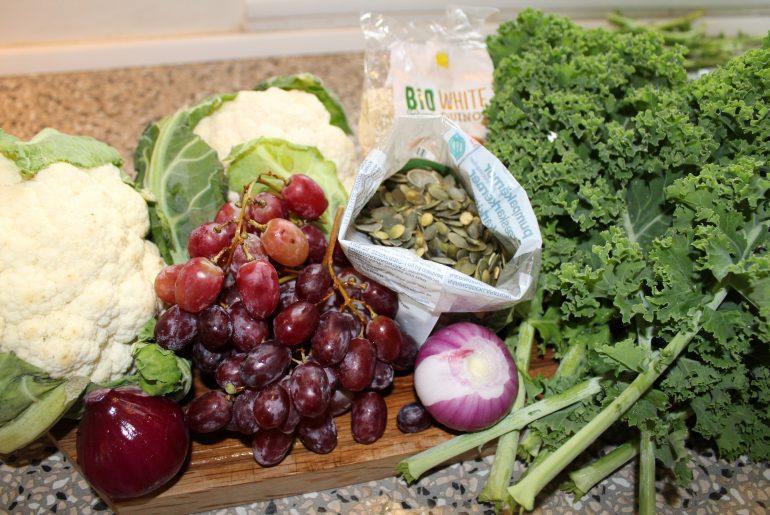 Ingredienser til salat