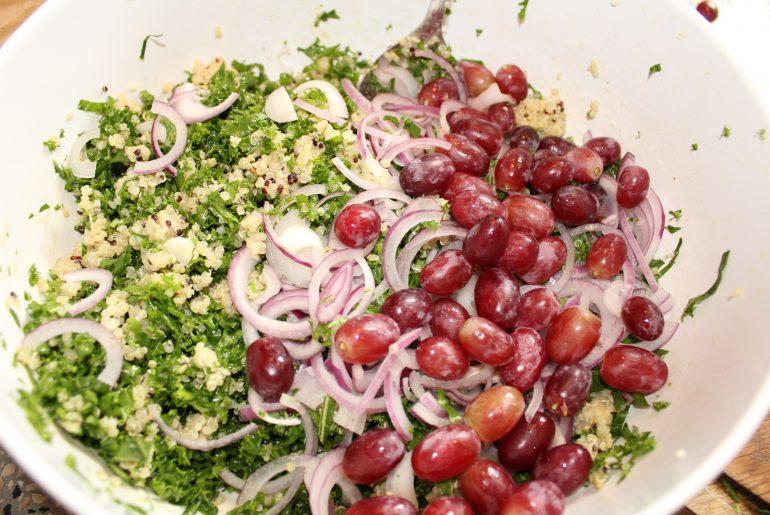 Salat med ristet blomkål