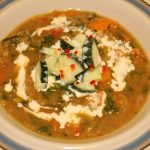Spicy bombay-linsesuppe