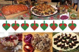 Et udvalg af sidste års julemad