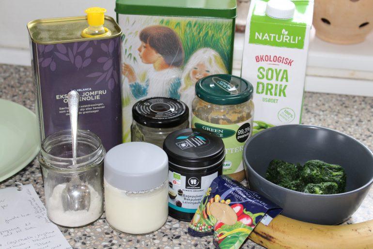 Brunchpandekager med spinat