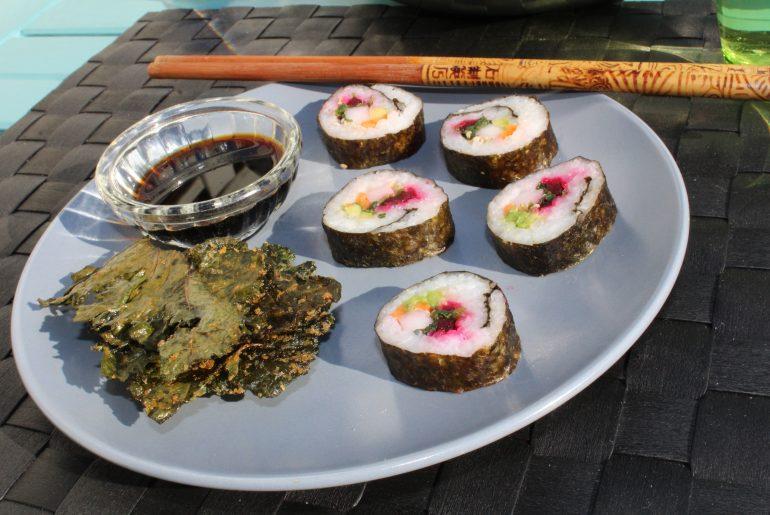 Veganske kimbap