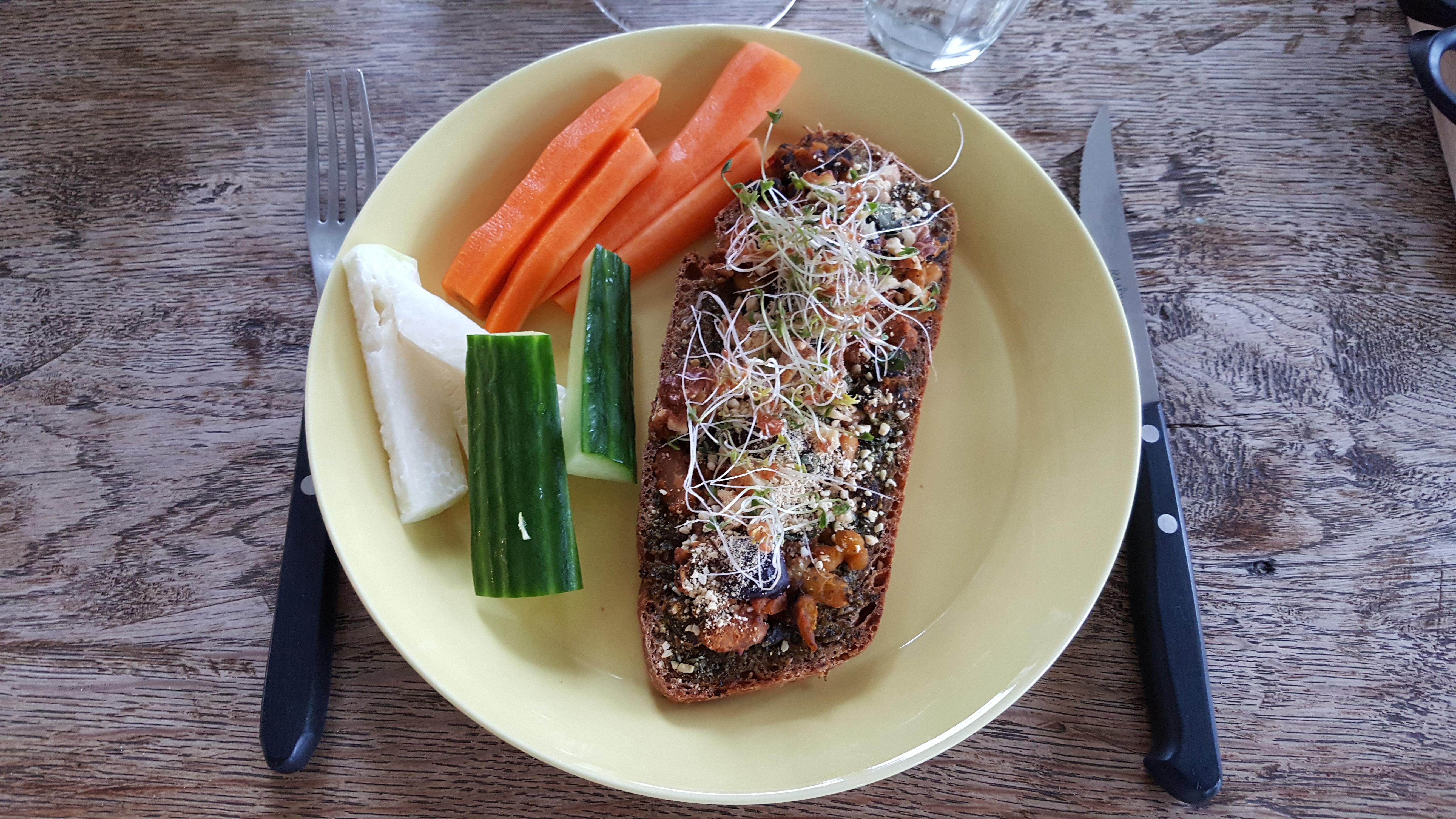 Pizzabrød og fingergrønt