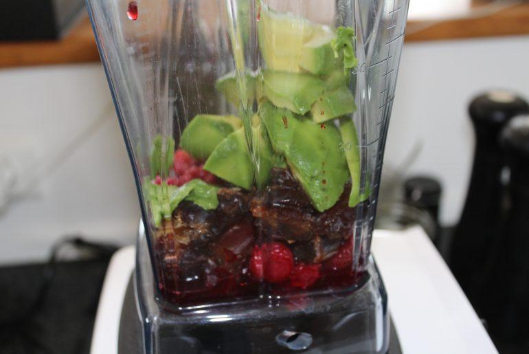 Chiaparfait med hindbærmousse