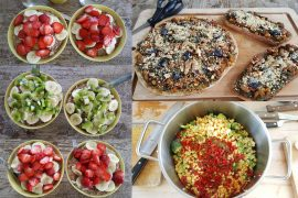 Vegansk mad til tre dage i sommerhus