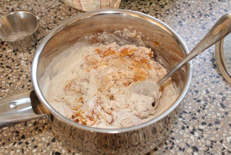 Pandebrød med søde kartofler