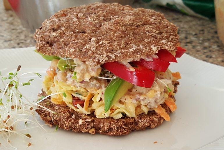 Sandwichboller med frø og kerner