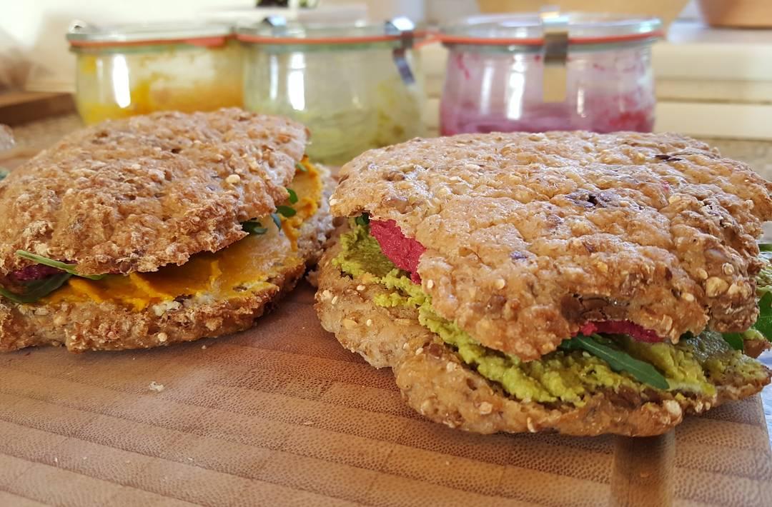 Veganske sandwich