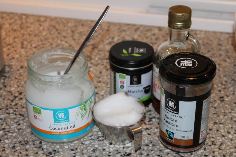 Julekonfekt med kokosmynte