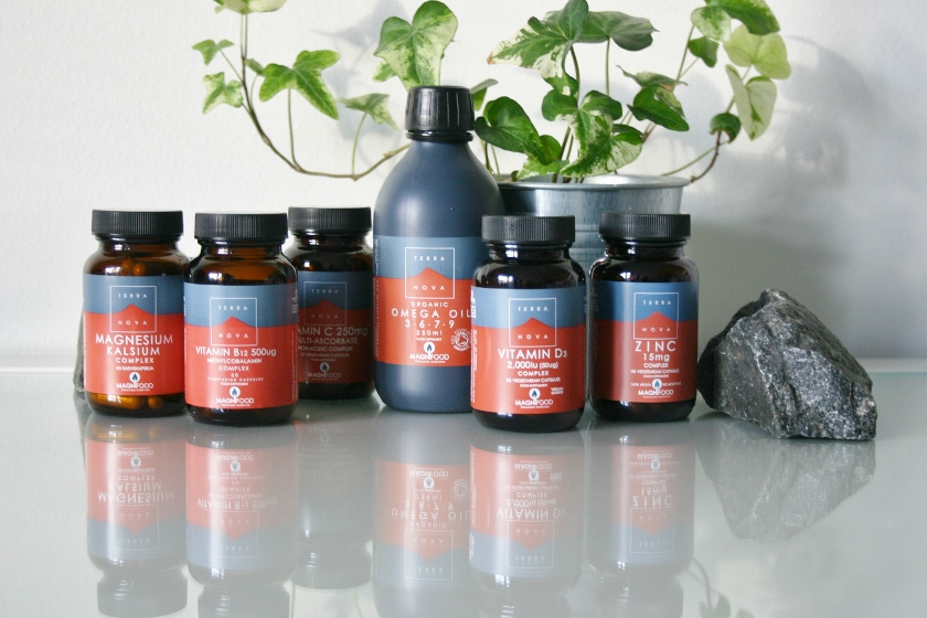 vitamin og kosttilskud fra Terranova