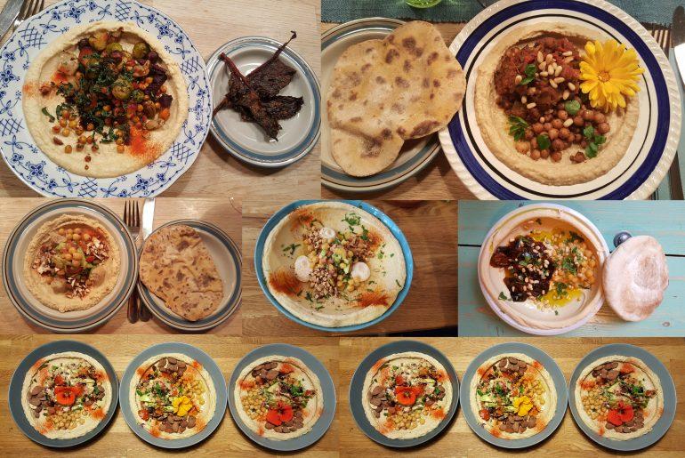 Hummus-tallerkener 2018