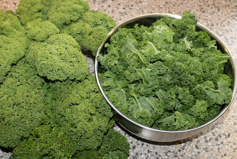 Frisk grønkål