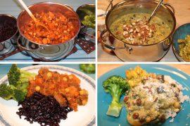 Veganske middagsretter